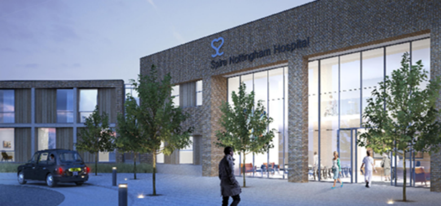 MORGAN SINDALL TO BUILD NEW £60 MILLION NOTTINGHAM HOSPITAL