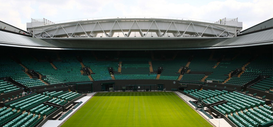 Wimbledon No.1 Court Roof Unveiled At This Year's Tournament